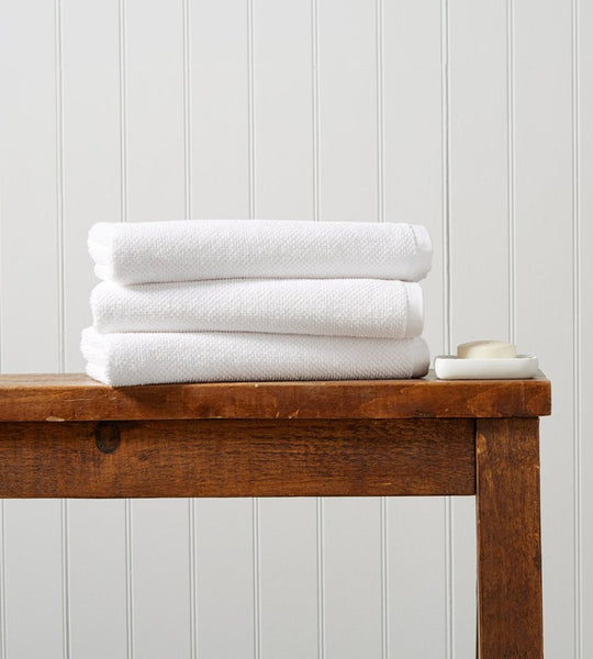 Brixton Towels White