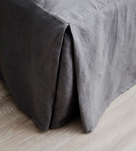 Cultiver | Linen Valance | Charcoal
