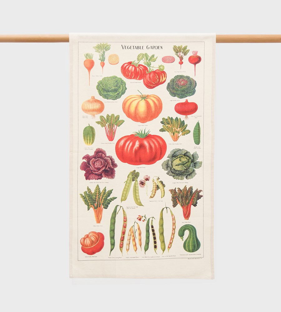 Cavallini | Vegetable Garden Tea Towel