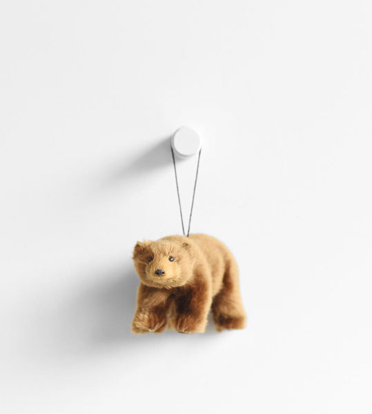 Christmas Decoration | Hanging Bear | Brown