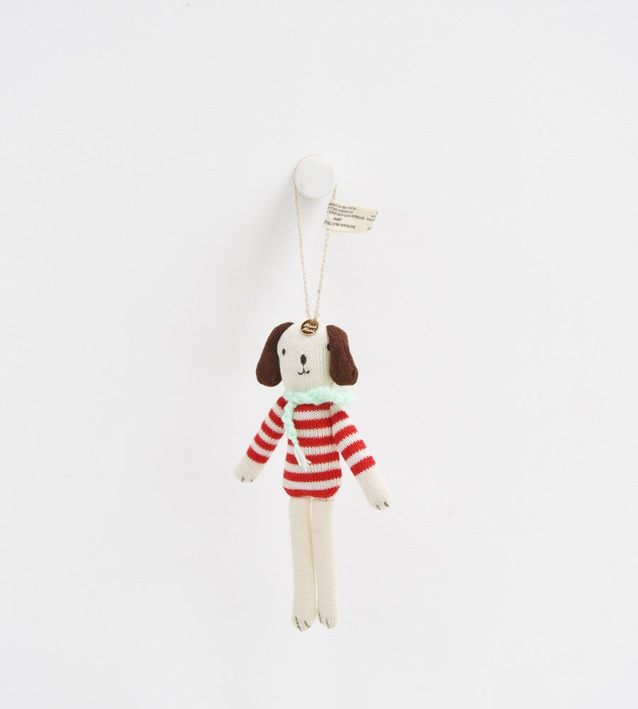 Christmas Decoration | Stripy Dog