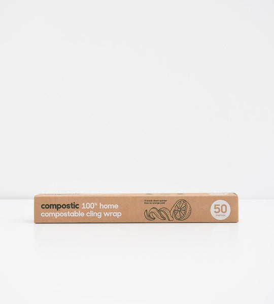 Compostic | 100% Home Compostable Cling Wrap