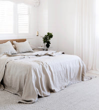 Cultiver | Linen Duvet Cover Set | Smoke Grey