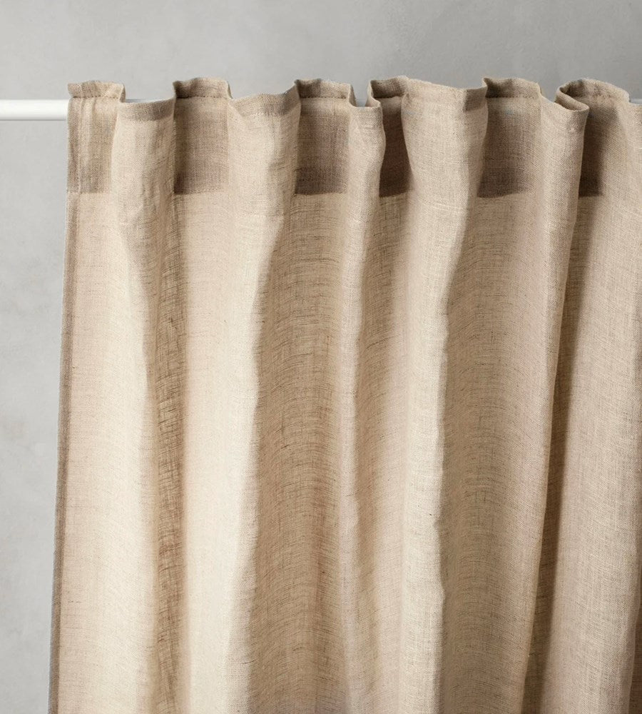Cultiver | Linen Curtain | Natural
