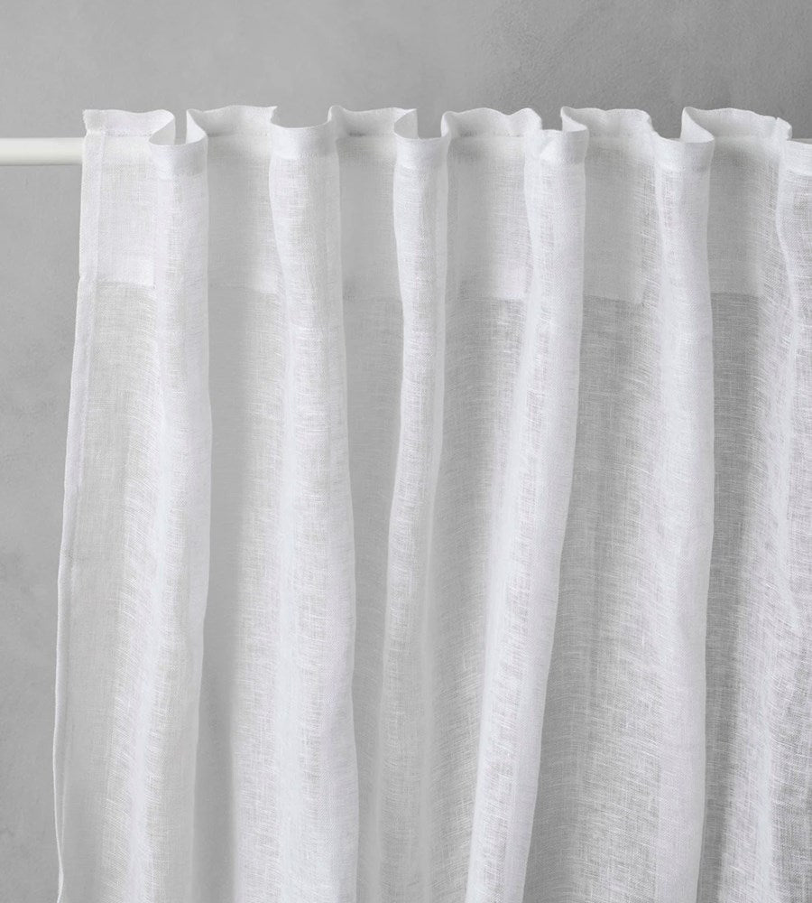 Cultiver | Linen Curtain | White