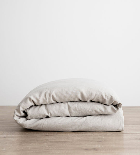 Cultiver | Linen Duvet Cover | Smoke Grey