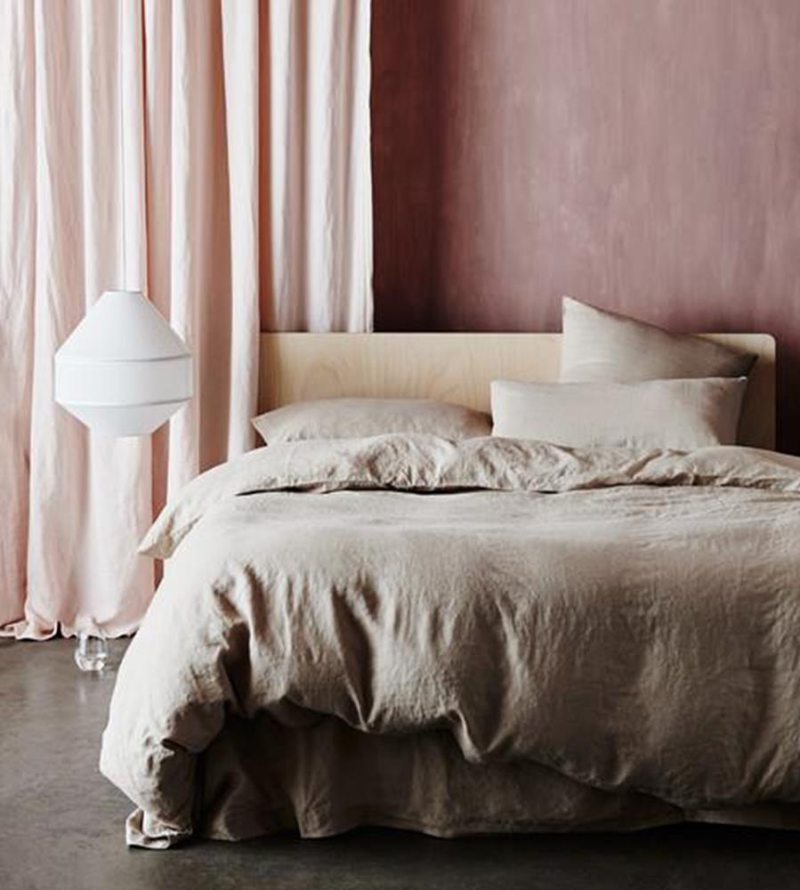 Cultiver | Linen Duvet Cover | Nude