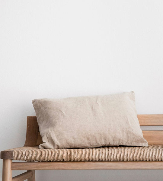 Cultiver | Linen Les Minis Cushion | Natural
