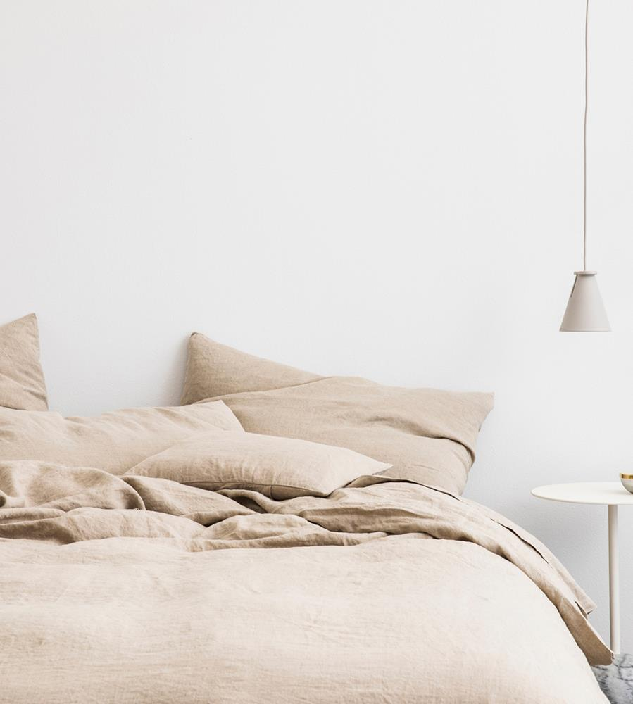 Cultiver | Linen Fitted Sheet | Natural