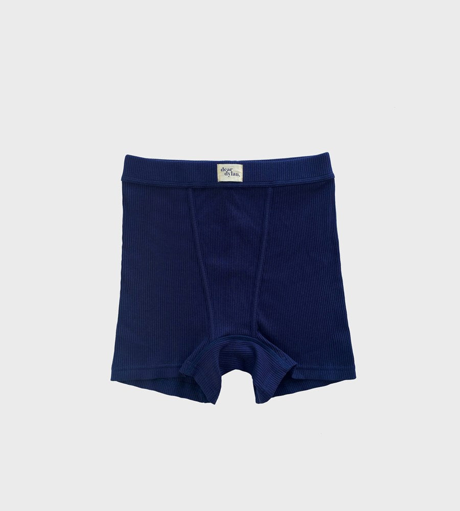 Dear Dylan | Ribbed Boy Short | Navy