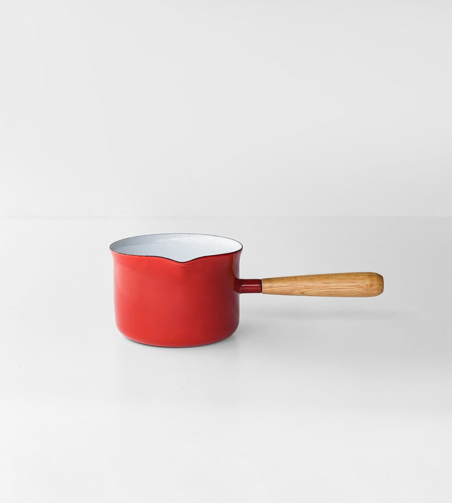 Deluxe Enamel Gravy Maker | Red & White