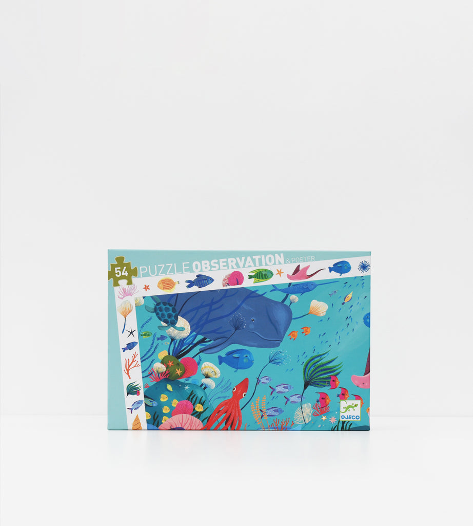 Djeco | Aquatic | 54 Piece Puzzle