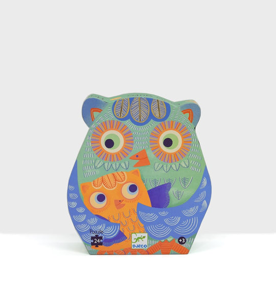 Djeco | Hello Owl | 24 Pieces