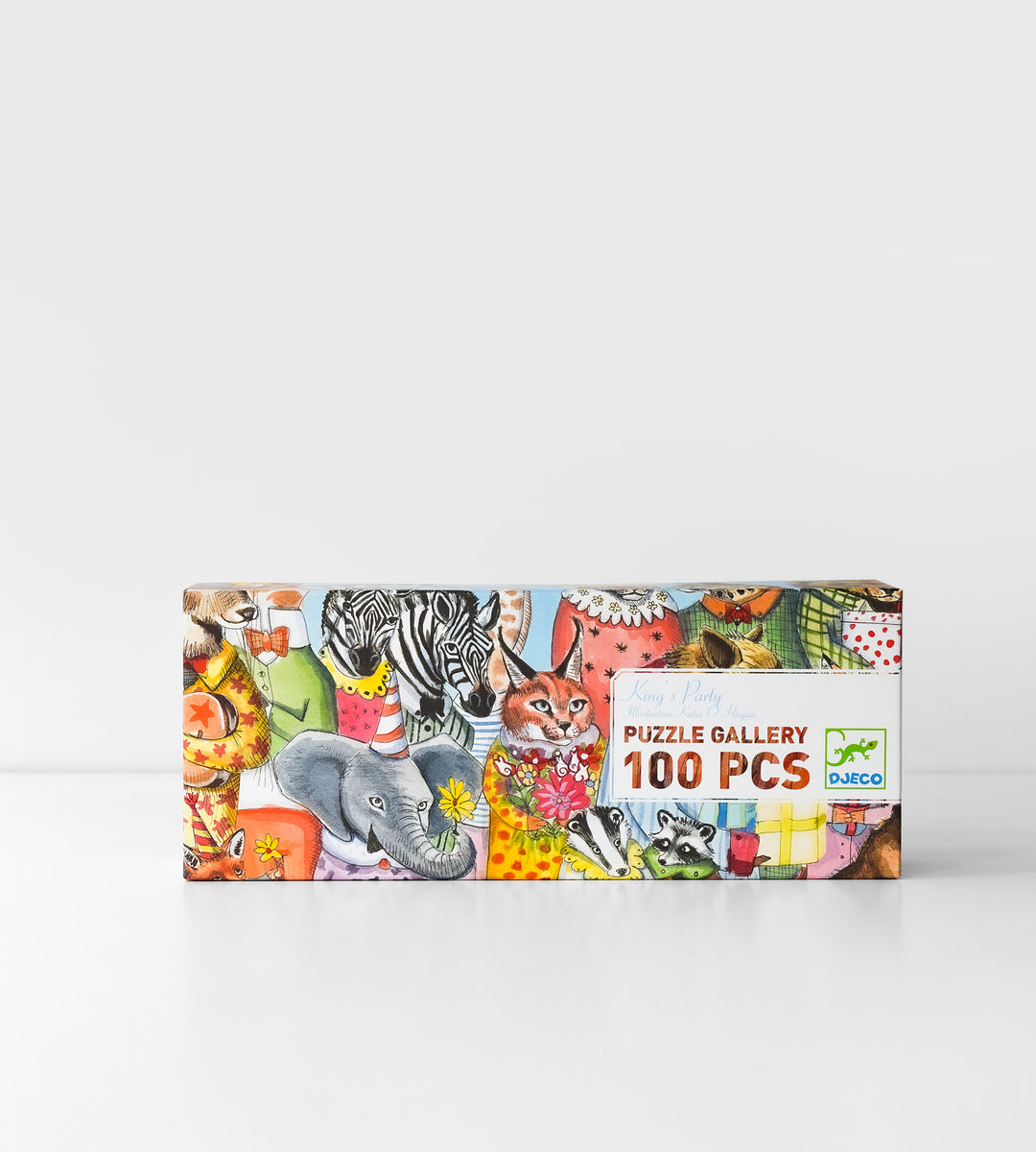 Djeco | King's Party Puzzle | 100 Pieces
