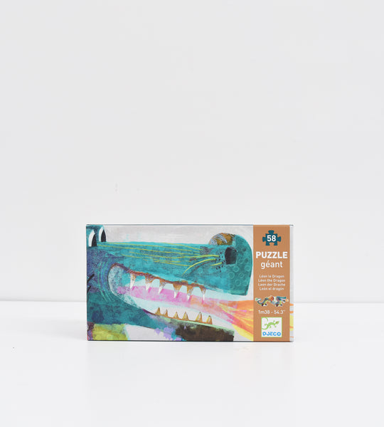 Djeco | Leon the Dragon | 58 Piece Puzzle