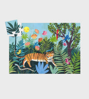 Djeco | The Tiger's Walk | 24 Piece Puzzle