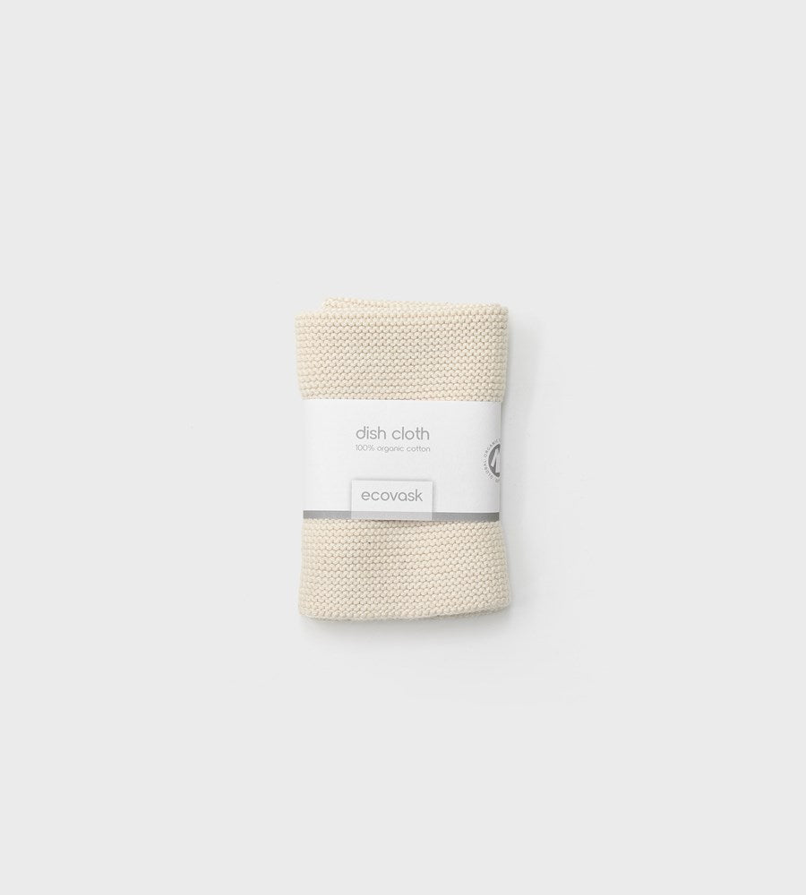 Ecovask | Dish Cloth | Marshmallow