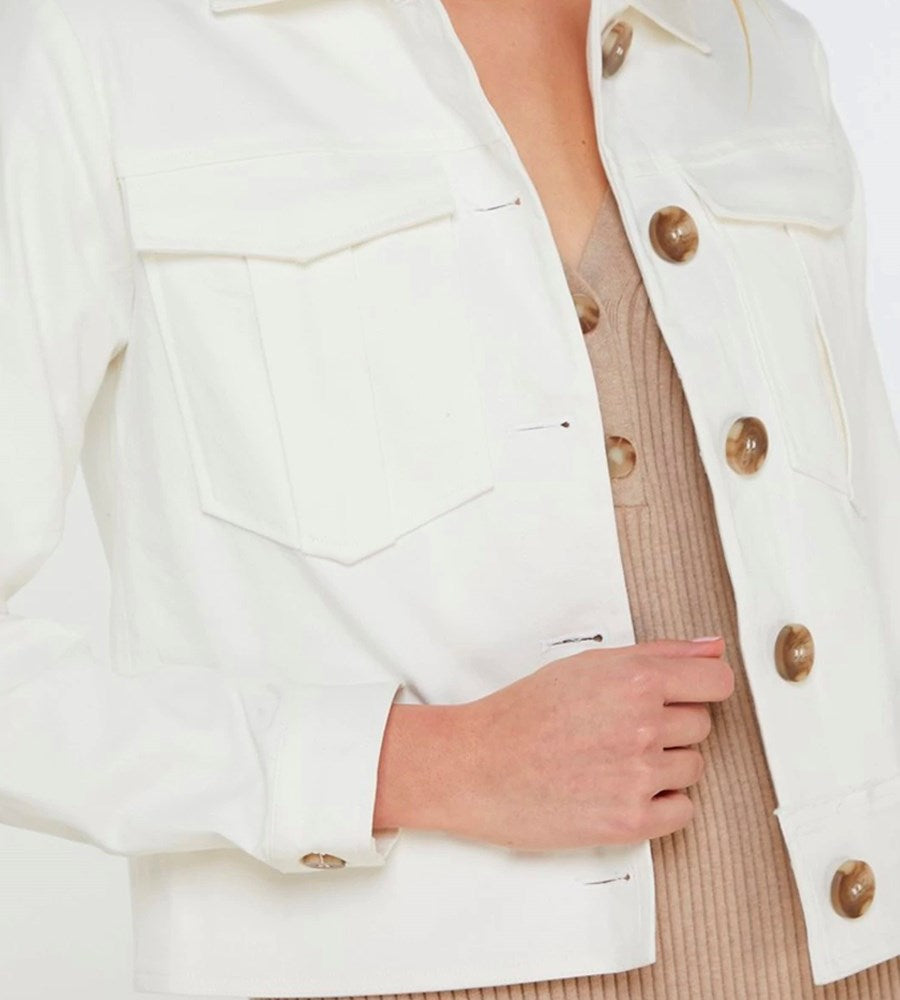 Elka Collective | Bellamy Jacket | White