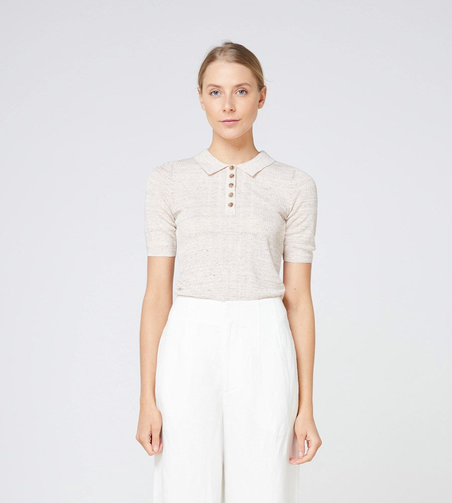 Elka Collective | Carmine Knit Top | Oatmarle