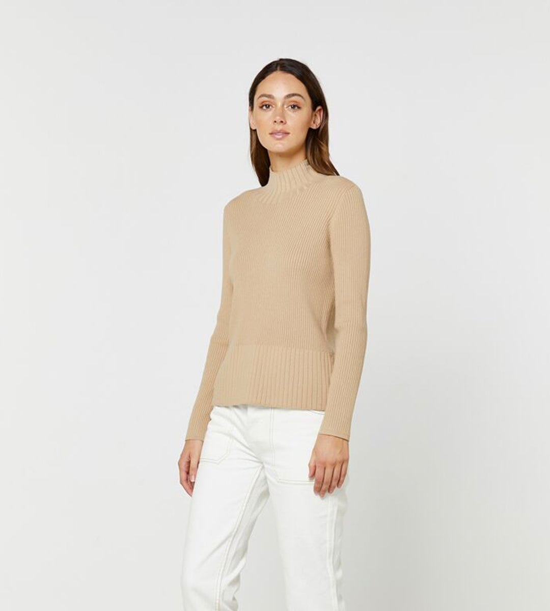 Elka Collective | Carson Knit | Camel