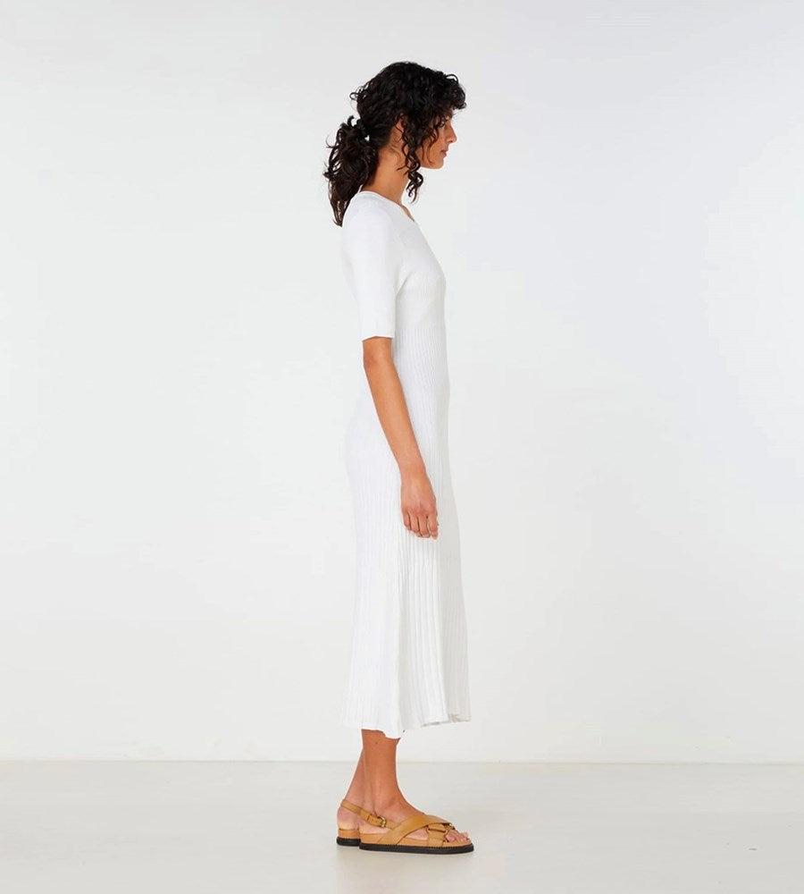 Elka Collective | Chantilly Dress | White