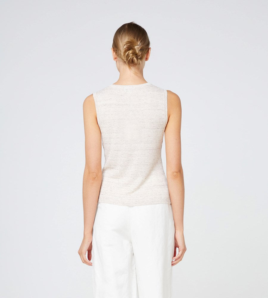 Elka Collective | Franco Knit Tank | Oatmarle