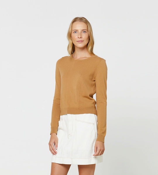 Elka Collective Gale Knit Camel