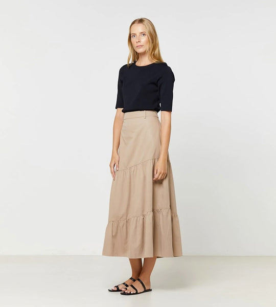 Elka Collective | Geneva Skirt | Stonewood