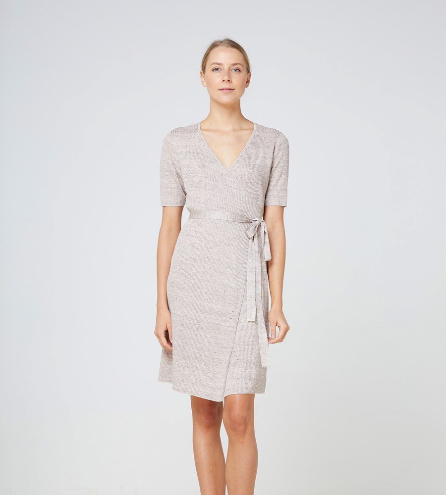Elka Collective | Jana Knit Dress | Cocoa