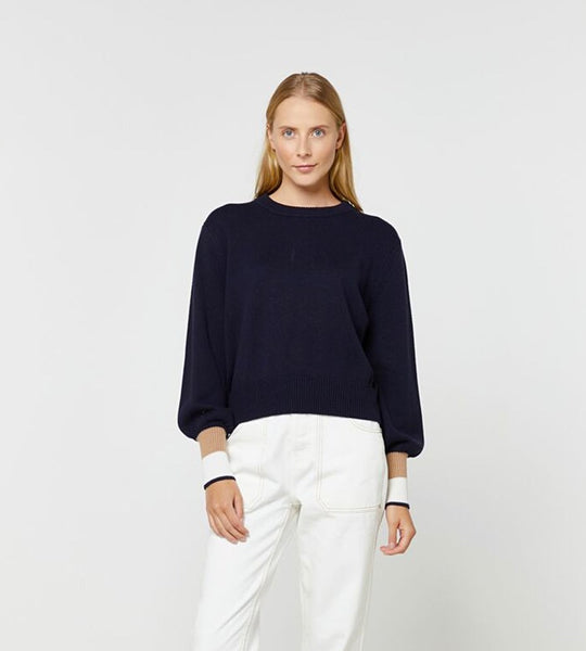 Elka Collective | Jilian Knit | Navy