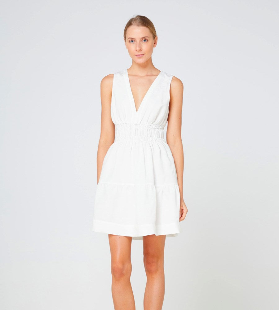 Elka Collective | Lazio Dress | White