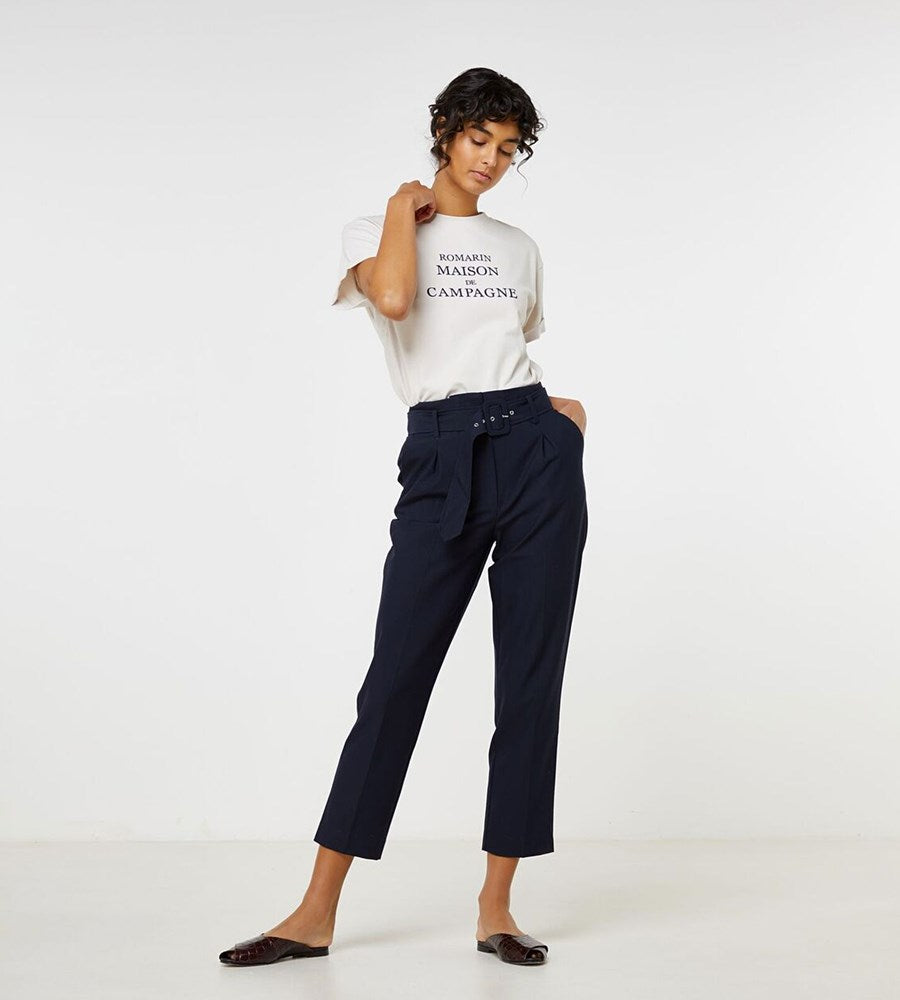 Elka Collective | Linden Pant | Navy