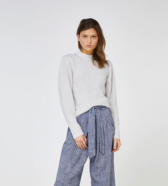 Elka Collective Maple Knit Pale Grey