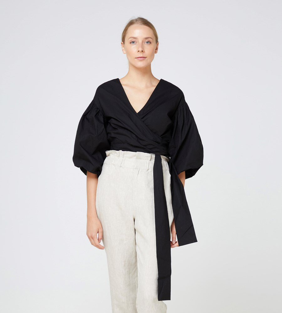 Elka Collective | Medina Top | Black