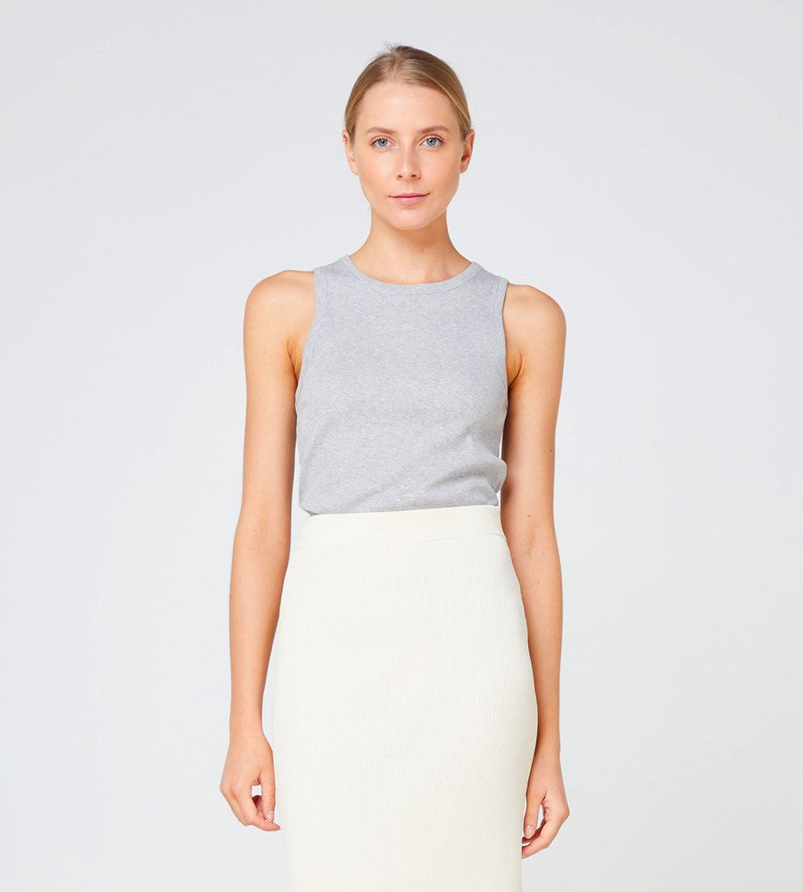 Elka Collective | Nola Tank | Grey Marle