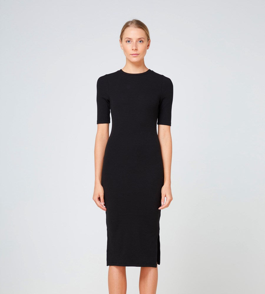 Elka Collective | Ortona Dress | Black