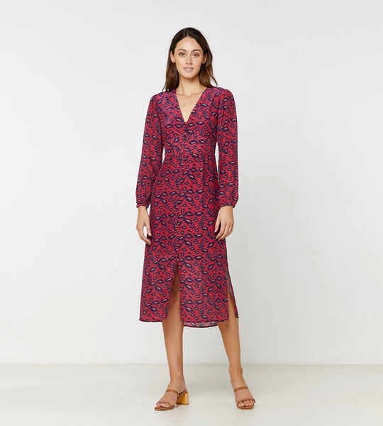 Elka Collective | Ren Long Sleeve Dress | Bold Floral