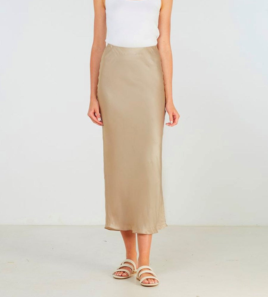 Elka Collective | Sublime Skirt | Champagne
