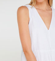 Elka Collective | Willa Dress | White