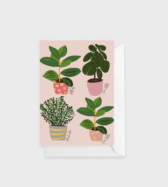 Elm Paper | Plants Card