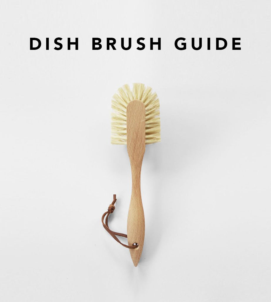Father Rabbit's Dish Brush Guide