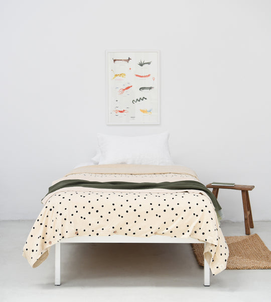 Nature Baby | Jersey Duvet Cover | Speckled Print