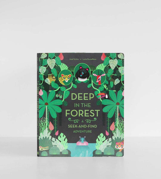 Deep In The Forest: A Seek-and-Find Adventure | by Josef Antòn