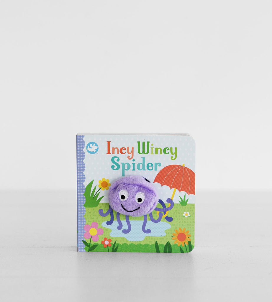 Incy Wincy Spider | Finger Puppet Book