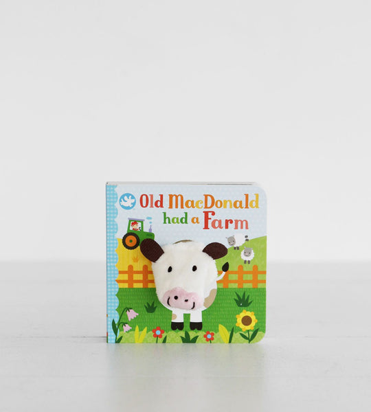 Old MacDonald Had a Farm | Finger Puppet Book
