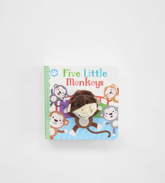Five Little Monkeys | Finger Puppet Book