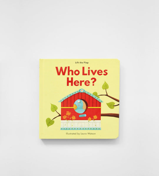 Lift the Flap | Who Lives Here