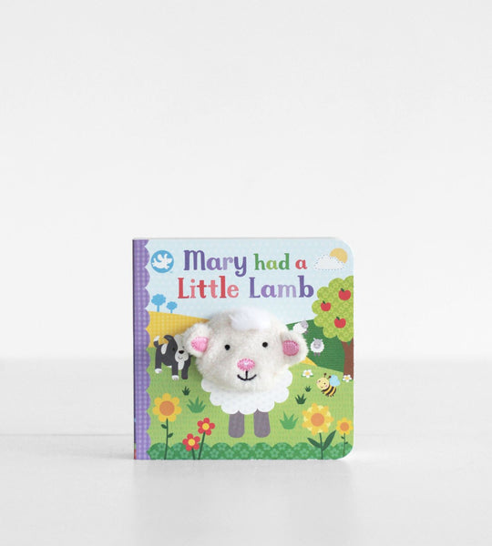 Mary Had a Little Lamb | Finger Puppet Book
