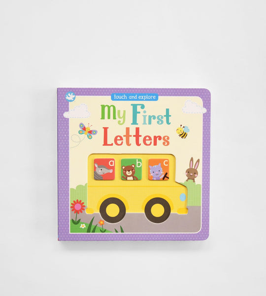 My First Letters | Board Book