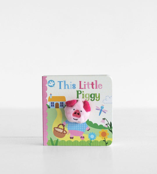 This Little Piggy | Finger Puppet Book